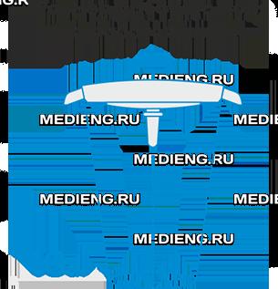 Медицинский светильник ЭМАЛЕД 100W